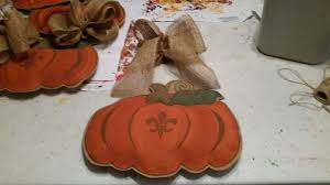 your own fall pumpkin burlap door hanger nola gifts decor