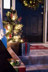 diy front porch christmas decor a wooden wonderland diy front porch decor for christmas