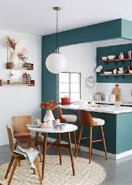 cuisine blanche mur couleur pour cuisine 105 ides de peinture murale et faade couleur