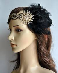 how to make a 1920s hairpiece peaches and cream ostrich feather flapper by baroqueandroll