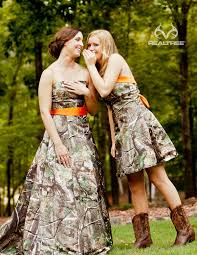 camo and orange wedding dresses 42 cool camo wedding ideas for country style enthusiasts