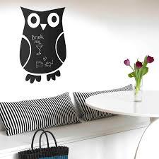 rectangular blackboard wall sticker large chalkboard wall decor owl blackboard wall sticker
