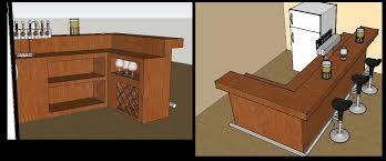 Awesome Home Bar Design Plans Interior Design Ideas