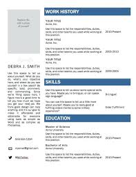 microsoft office word resume templates 2014 does have ms printable