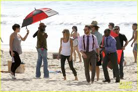 kristen bell u0027house of lies u0027 beach filming photo 2987994 don