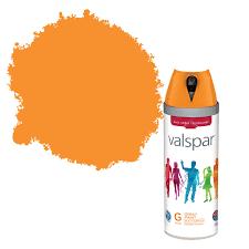 valspar interior u0026 exterior island orange gloss spray paint 400ml