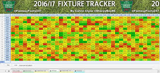 Fpl Outage Map Fpl Customisable Fixture Tracker 2016 17 Tutorial Youtube