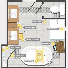 floor plans for bathrooms 8 bathroom storage ideas