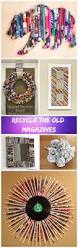 diy ideas to recycle magazines for home décor u2022 diy home decor
