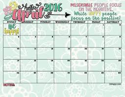 april 2016 calendar free printables inkhappi