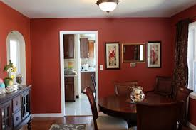top 5 red paint colors for fair dining room red paint ideas home