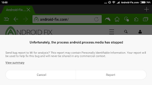 android device manager not working how to fix unfortunately the process android process media has