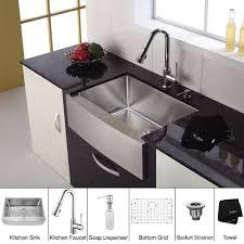 30 Inch Drop In Kitchen Sink Modern Kitchen Undermount Kitchen Sinks Kraus Sink Stainless
