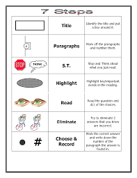 reading comprehension test taking strategy teaching ideas