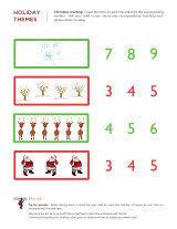christmas math worksheets sparks