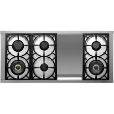 48 Inch Cooktop Gas Tecnogas Superiore 48 Inch Deco Natural Gas Range With 6 Burners