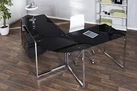 bureau angle verre noir bureau angle verre noir bureaux prestige