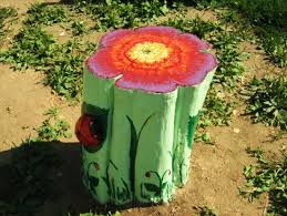 Pictures Of Tree Stump Decorating Ideas 25 Ideas To Recycle Tree Stumps For Garden Art And Yard