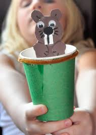 this farm family u0027s life craft time groundhog day puppet