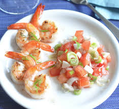 cuisiner gambas gambas poivrées et salsa de tomates recette gambas poivrées et