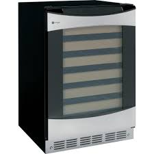 Stainless Steel Mini Fridge With Glass Door by Wine Beverage U0026 Keg Coolers Appliances The Home Depot