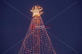 zilker christmas tree moonlight tower in austin texas