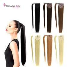 ponytail extensions 30 human hair drawstring ponytail extensions clip in on