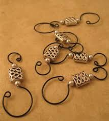 make a beaded wire ornament hanger use sturdier wire to create a
