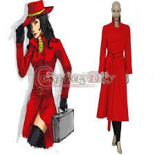 Custom Halloween Costume Custom Carmen Sandiego Costume Dress Uniform Suit Women