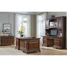 lewis executive desk credenza and hutch with file cabinet
