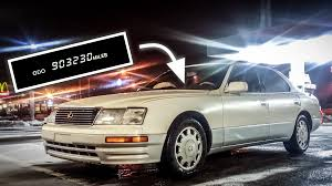 lexus is jalopnik lexus ls 400 driving for 1000000 miles