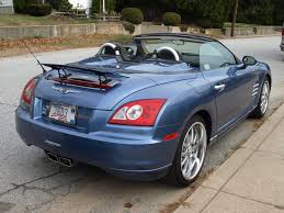chrysler crossfire questions convertible top cargurus