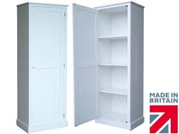 100 solid wood storage cabinet 180cm tall white painted cupboard
