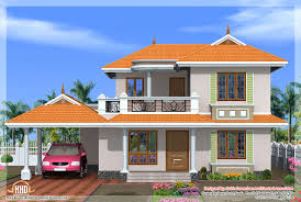kerala style flat roof house plans house style