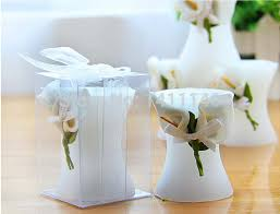 candle wedding favors 1 set sle calla candle wedding favors gift
