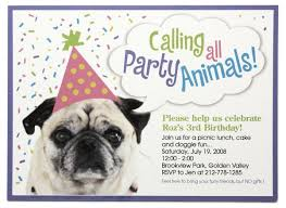 dog birthday party invitations theruntime com