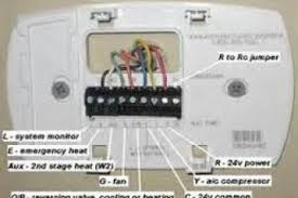 wiring diagram for honeywell thermostat wiring wiring diagrams