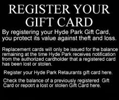 black friday restaurant gift card deals hyde park prime steakhouse