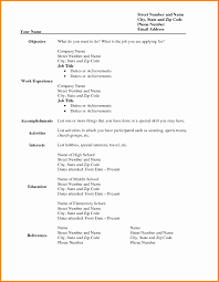 free blank resume templates for microsoft word 15 lovely free blank resume templates for microsoft word resume