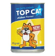 top cat topcat cat food chicken 12 x 425g lowest prices u0026 specials