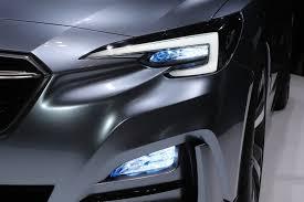 subaru headlight styles subaru impreza hatchback concept debuts in tokyo
