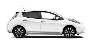 white nissan design nissan leaf electric car hatchback nissan