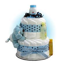 diper cake blue sparky 2 tier cake