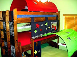 Bunk Bed Tent Only Bunk Bed Tent Bunk Bed With Gray Tent Top Bunk Bed Tent Only