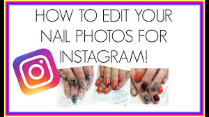 how to edit nail photos for instagram how to add a watermark