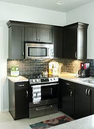 Best Stainless Steel Tile Images On Pinterest Stainless Steel - Black glass subway tile backsplash