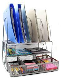 Desk Sorter Organizer Easypag Mesh Desk Organizer Tray With 5 File Sorter