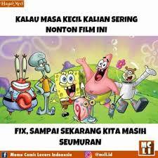Meme Comic Indonesia Spongebob - kumpulan 10 meme spongebob squarepants ini bakal ceriakan harimu