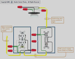 wiring a light switch and outlet together diagram pictures of wiring an outlet to a light switch diagram wire and how