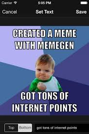 New Iphone Meme - imgur brings its meme generation utility to iphone with new memegen